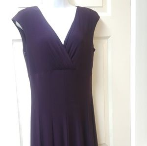 Grape purple Dress